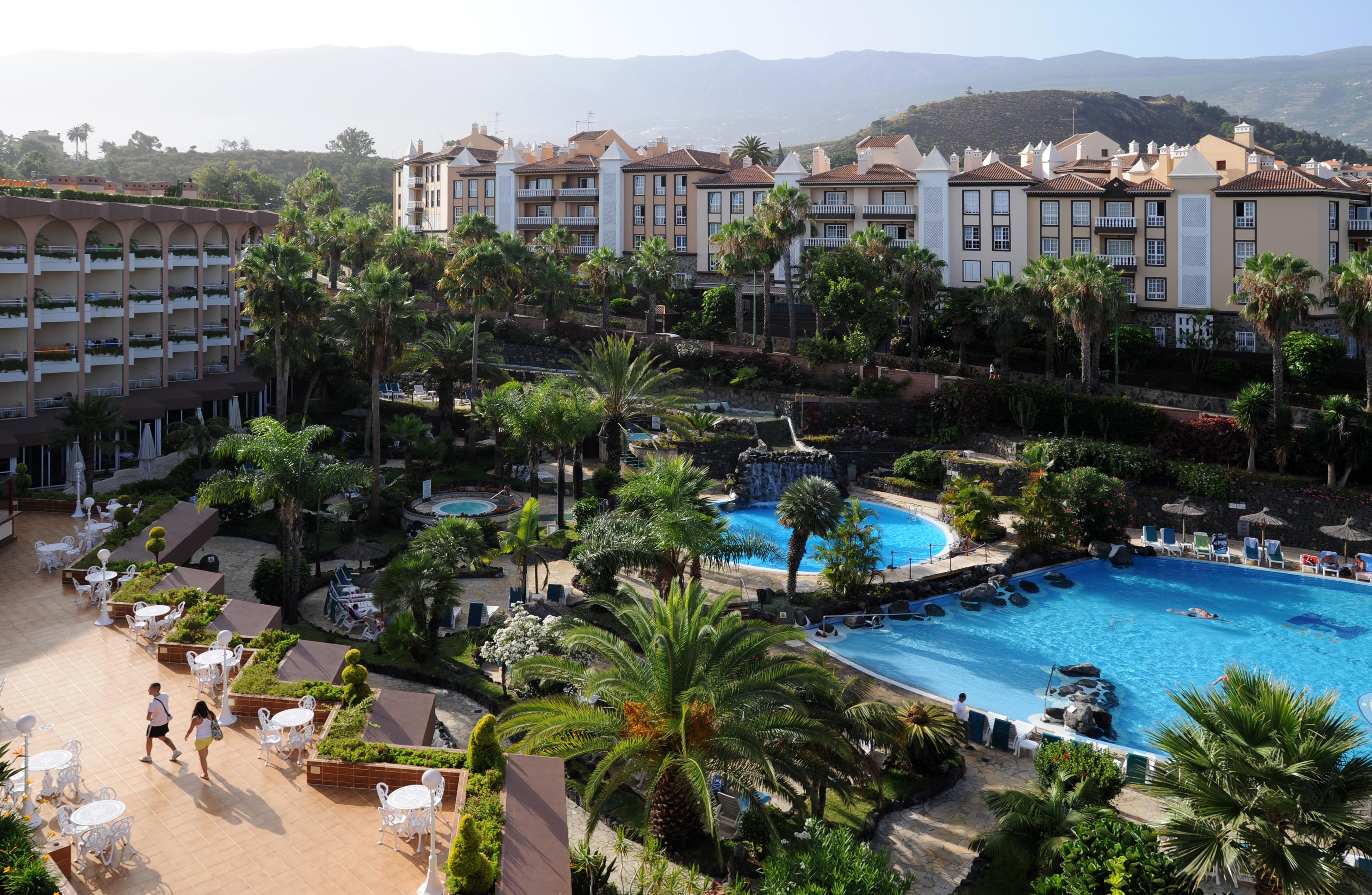 Der puerto palace hotel in puerto de la cruz auf teneriffa - Puerta de la cruz ...