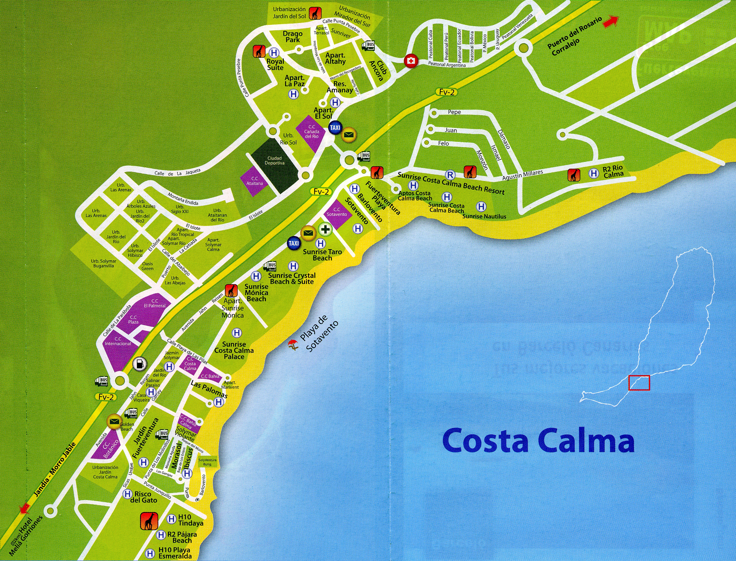 costa calma fuerteventura shopping