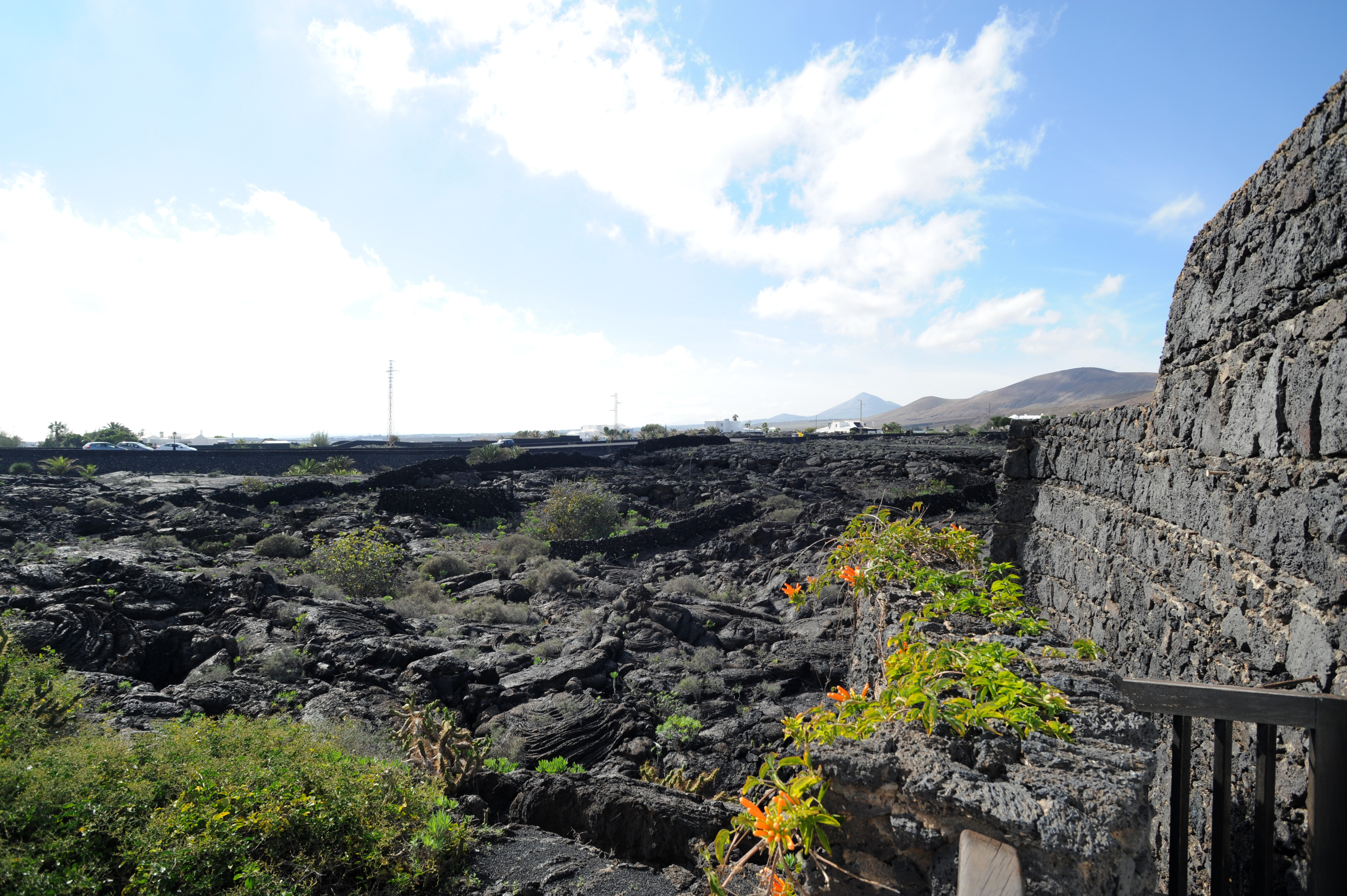 Das Dorf Tahíche und die Stiftung César Manrique auf Lanzarote