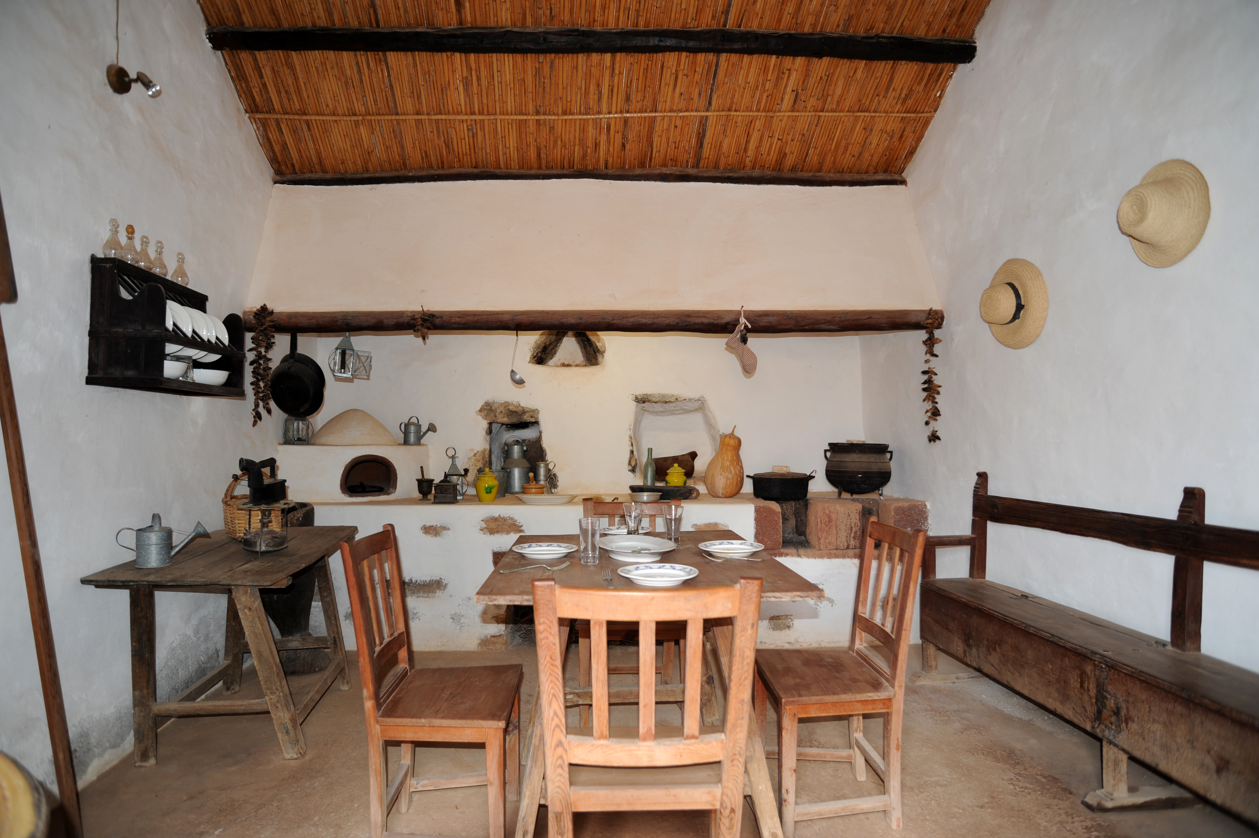 Das Dorf Tefía auf Fuerteventura