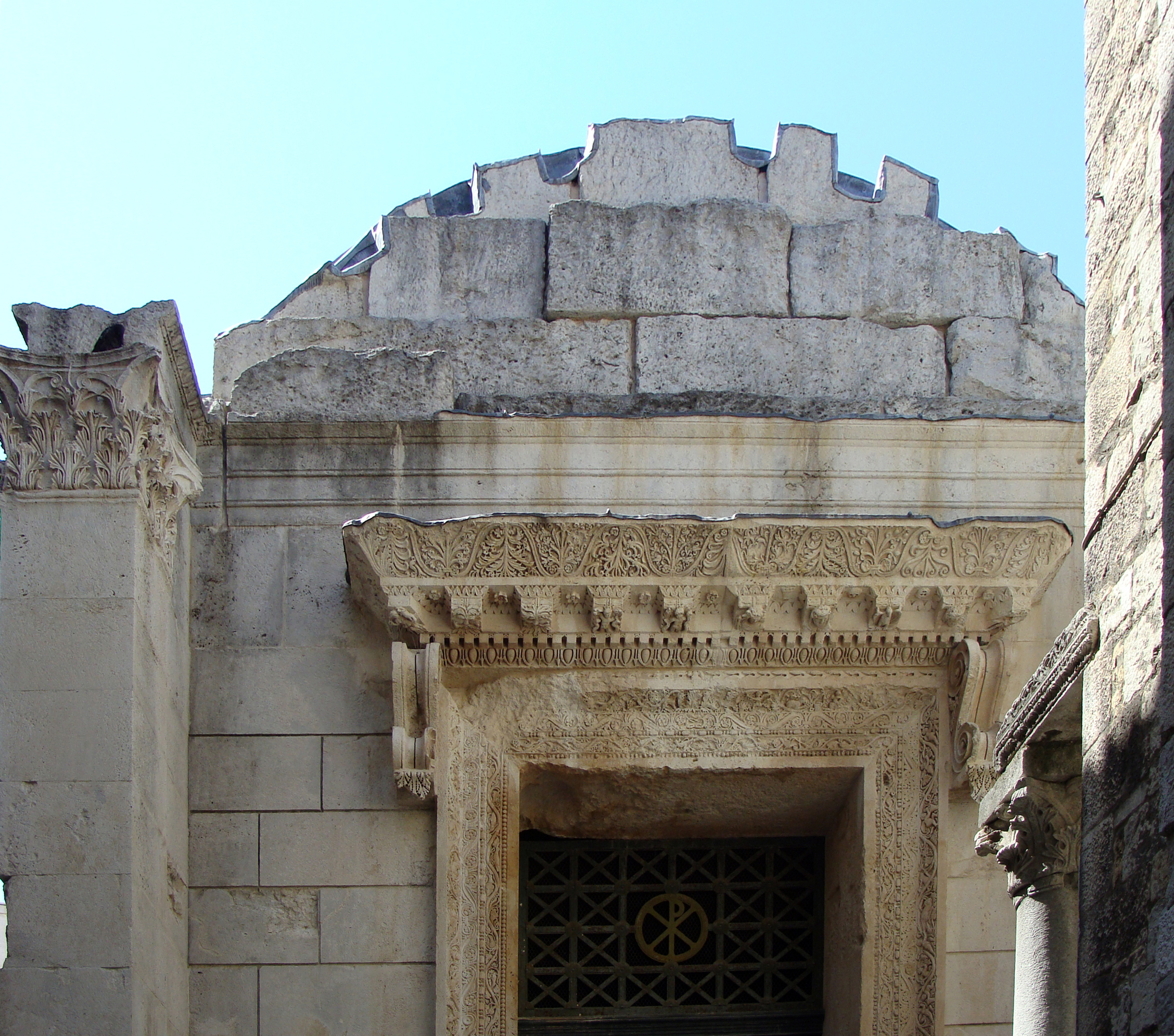 The Town Of Split In Croatia The Diocletian Palace