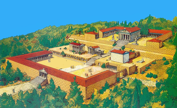 Héraclès - Page 4 Site_asclepieion_016_(reconstitution)