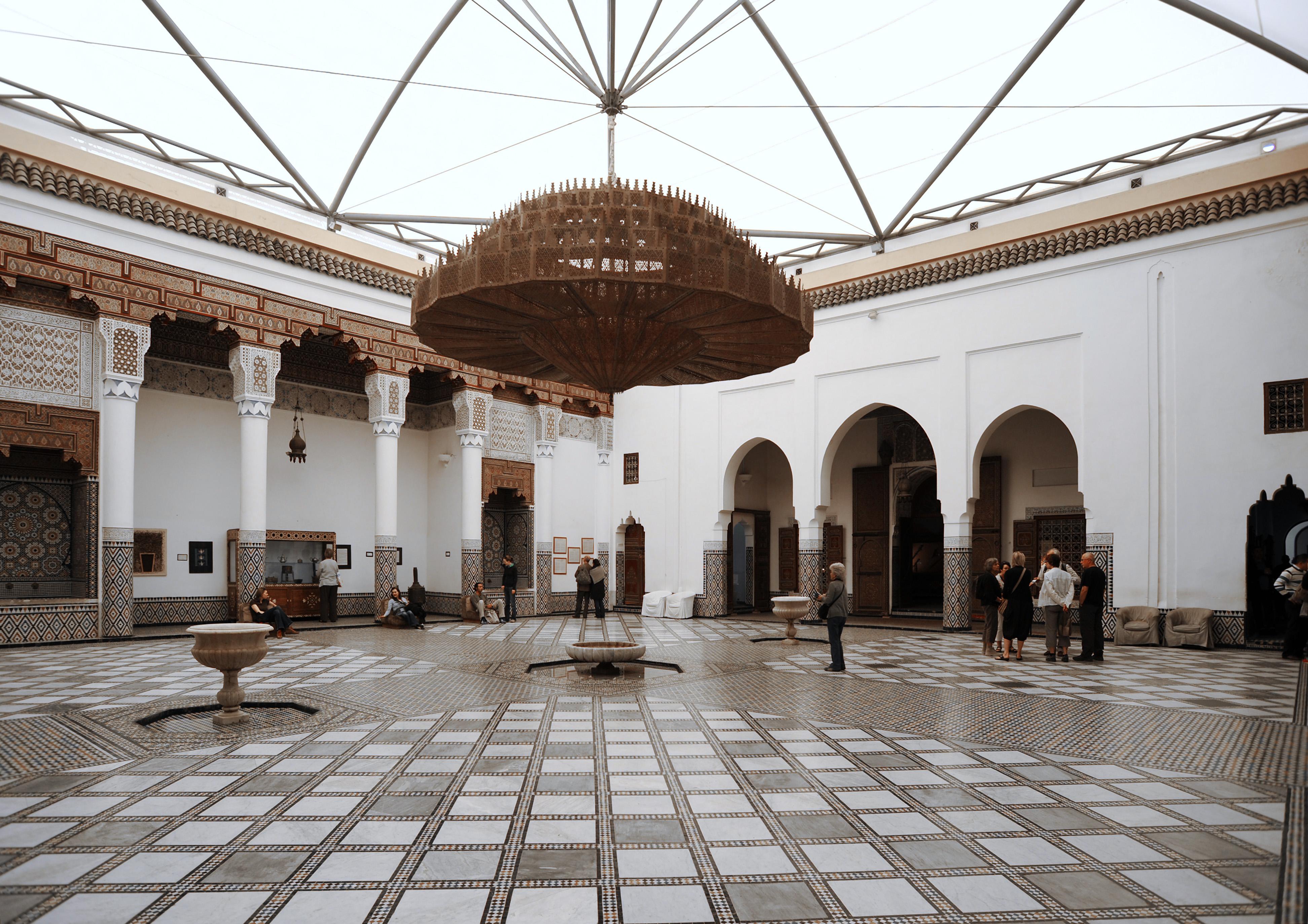 le palais m 39 nebbi marrakech au maroc. Black Bedroom Furniture Sets. Home Design Ideas