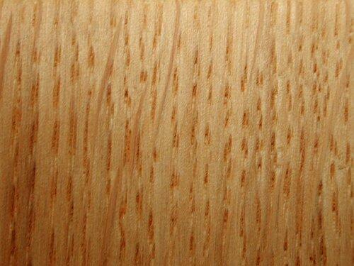 Chene Bois Dur Ou Tendre : Ch?ne sessile. Bois coupe longitudinale. Cliquer pour agrandir l
