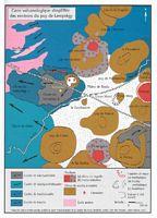 Le Puy De Lemptegy En Auvergne Carte Volcanologique Cliquer Pour Agrandir Limage