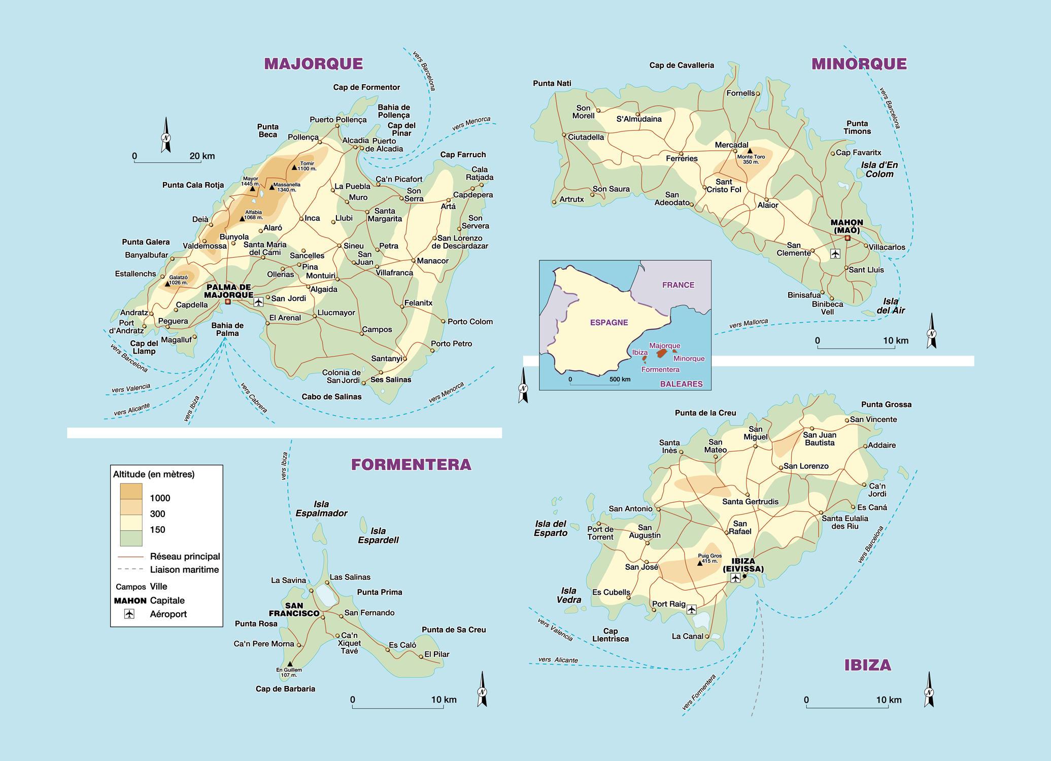L 39 archipel des les bal ares - Islas de baleares ...