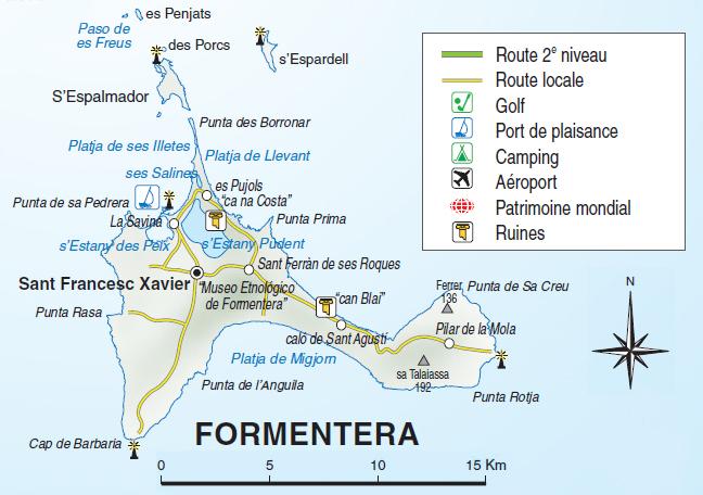 Mapa Interactivo Islas Baleares.Mapa Interactivo De Formentera