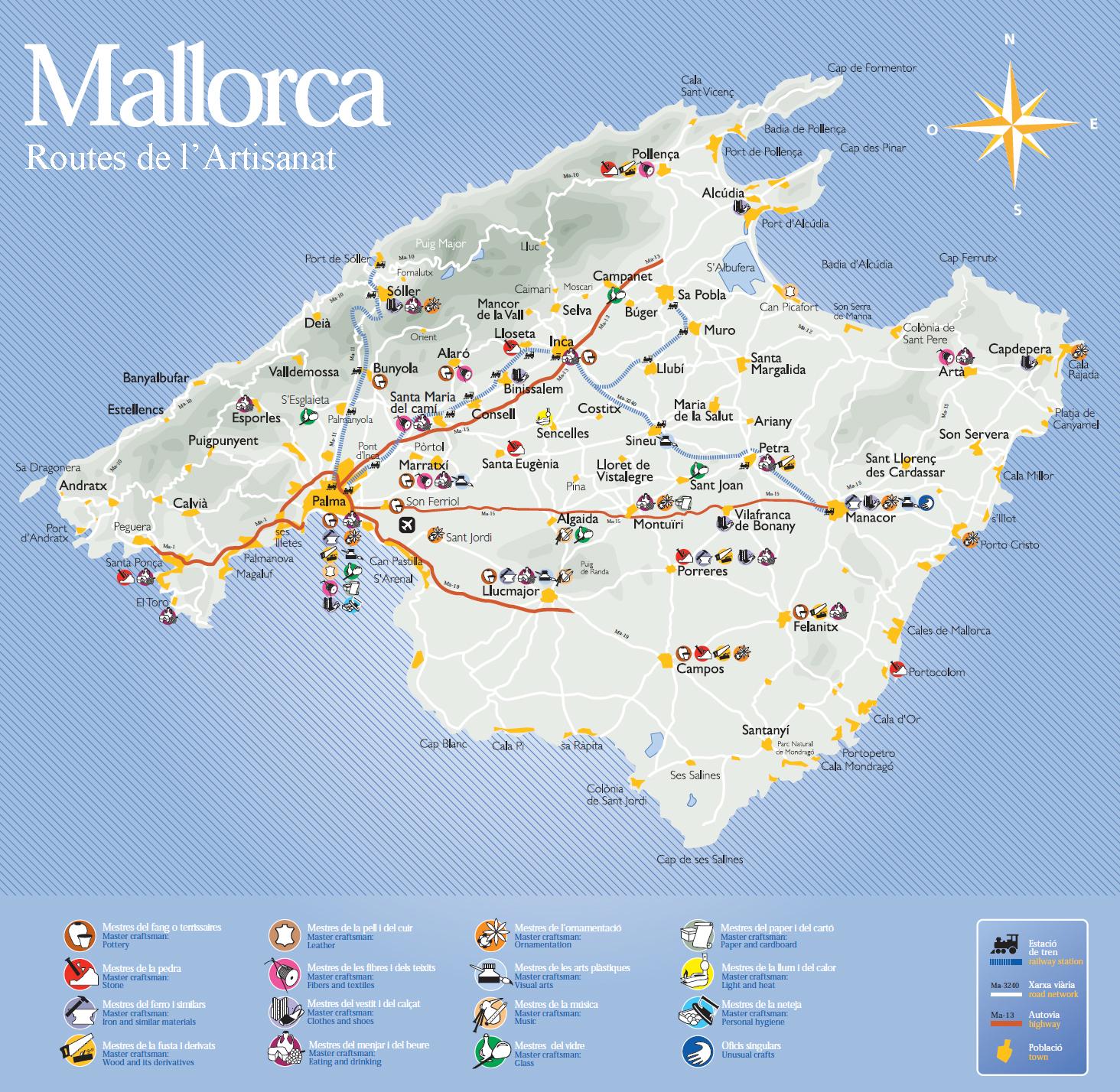 La Isla De Mallorca