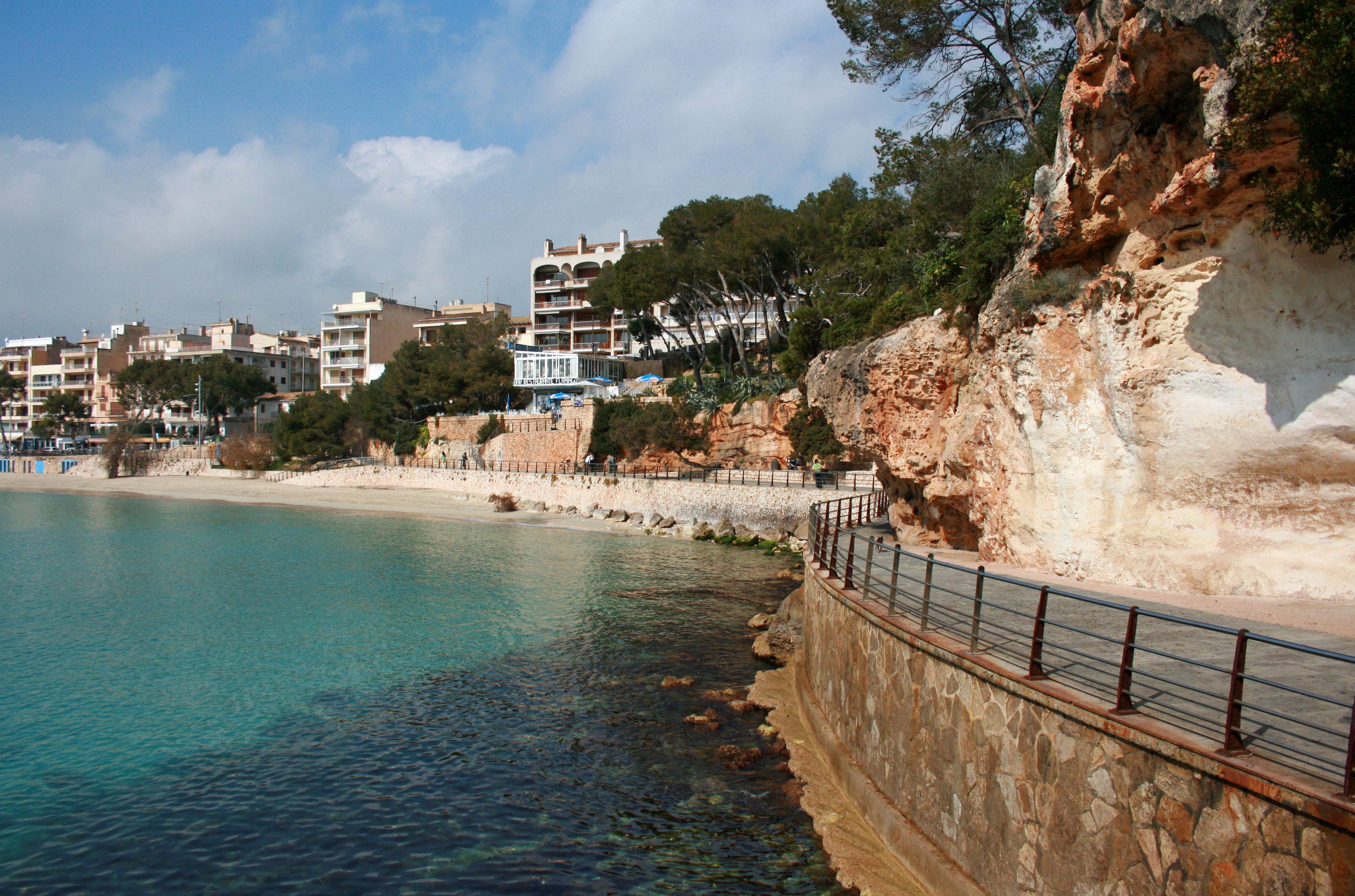 The Village Of Porto Cristo In Majorca
