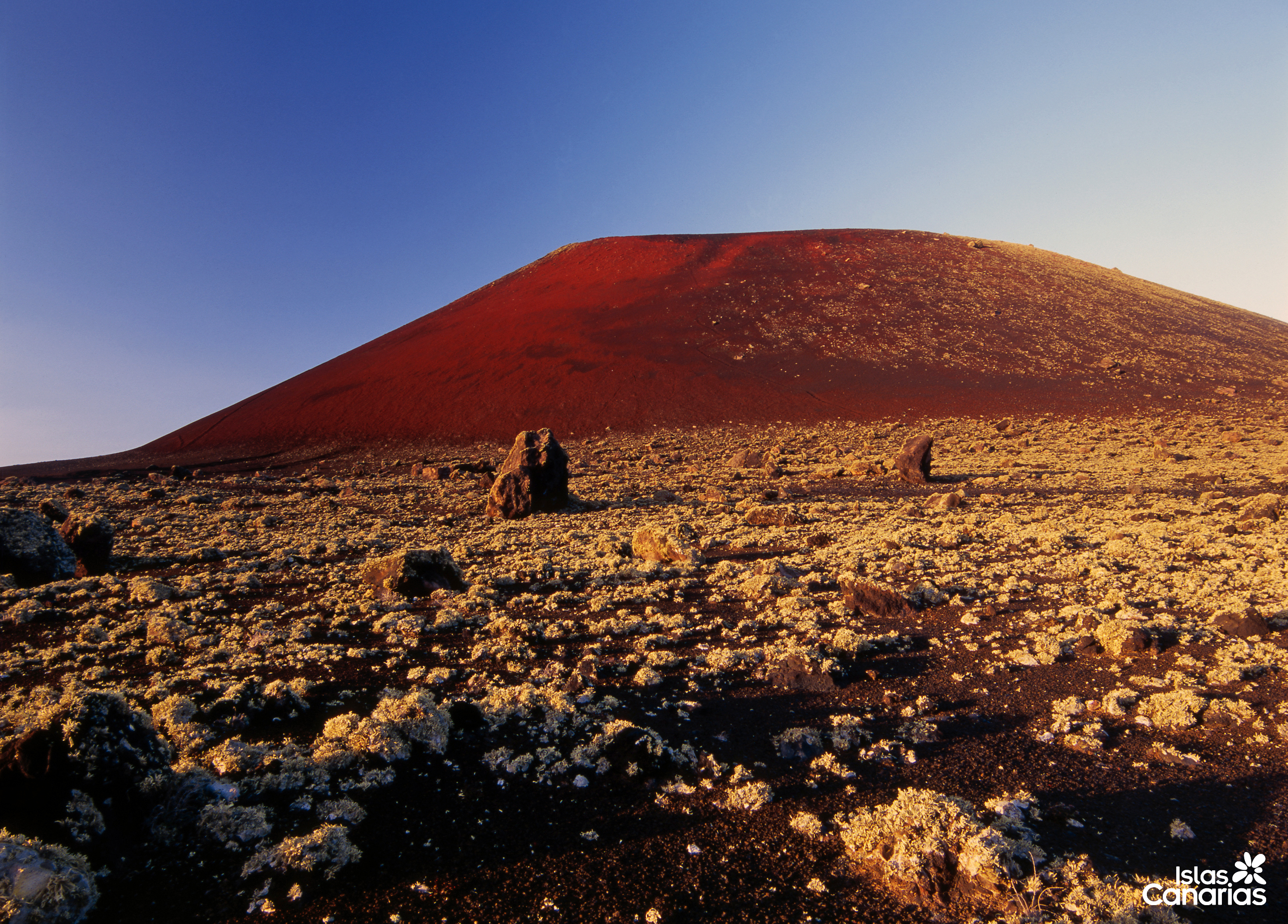 The Timanfaya National Park In Lanzarote