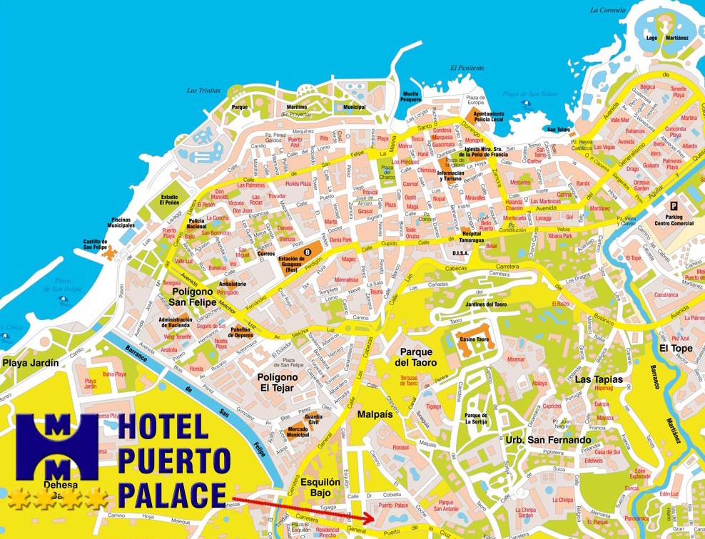Der Puerto Palace Hotel In Puerto De La Cruz Auf Teneriffa