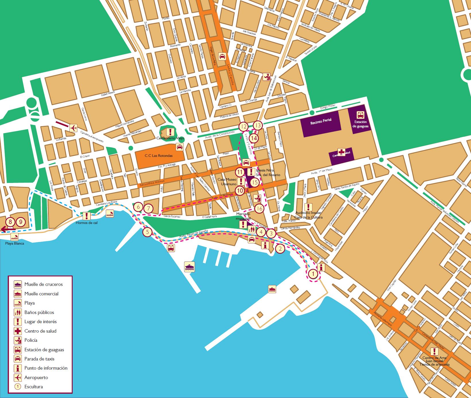 La ville de puerto del rosario fuerteventura - Pension puerto del rosario ...