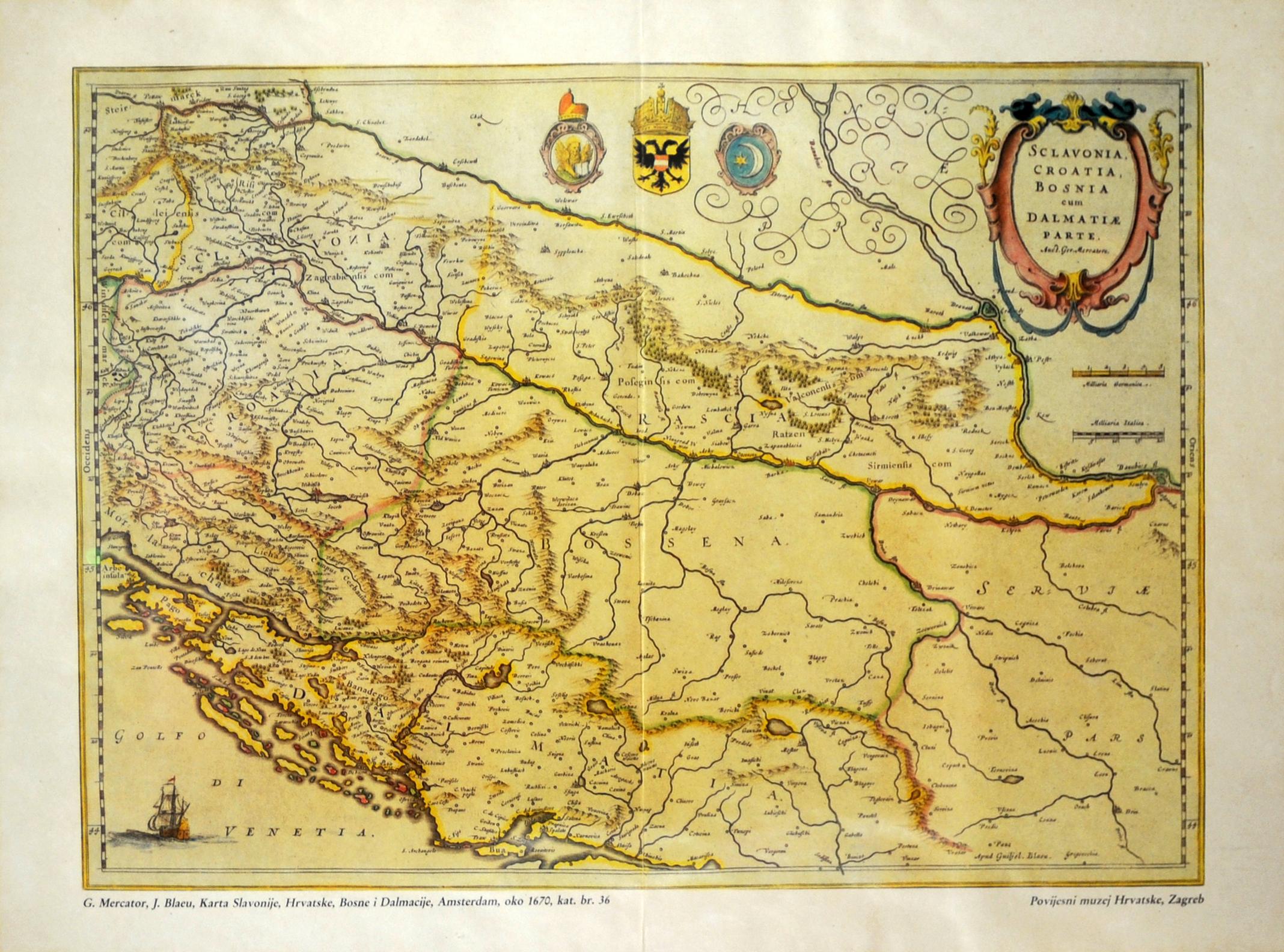 Carte Ancienne Croatie.Le Musee Ethnographique De Split En Croatie