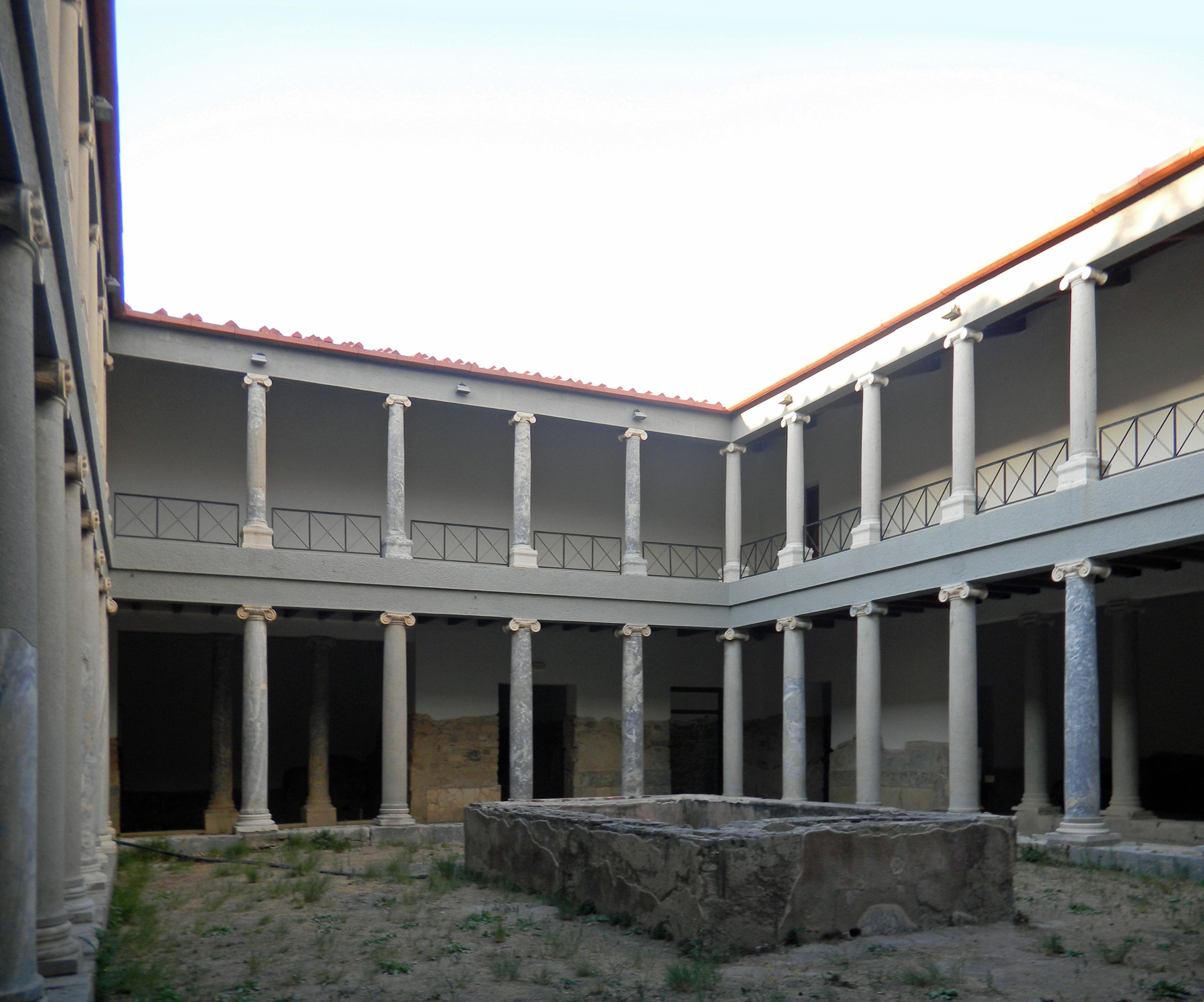 La ville de kos le de kos la ville gr co romaine - La casa romana ...