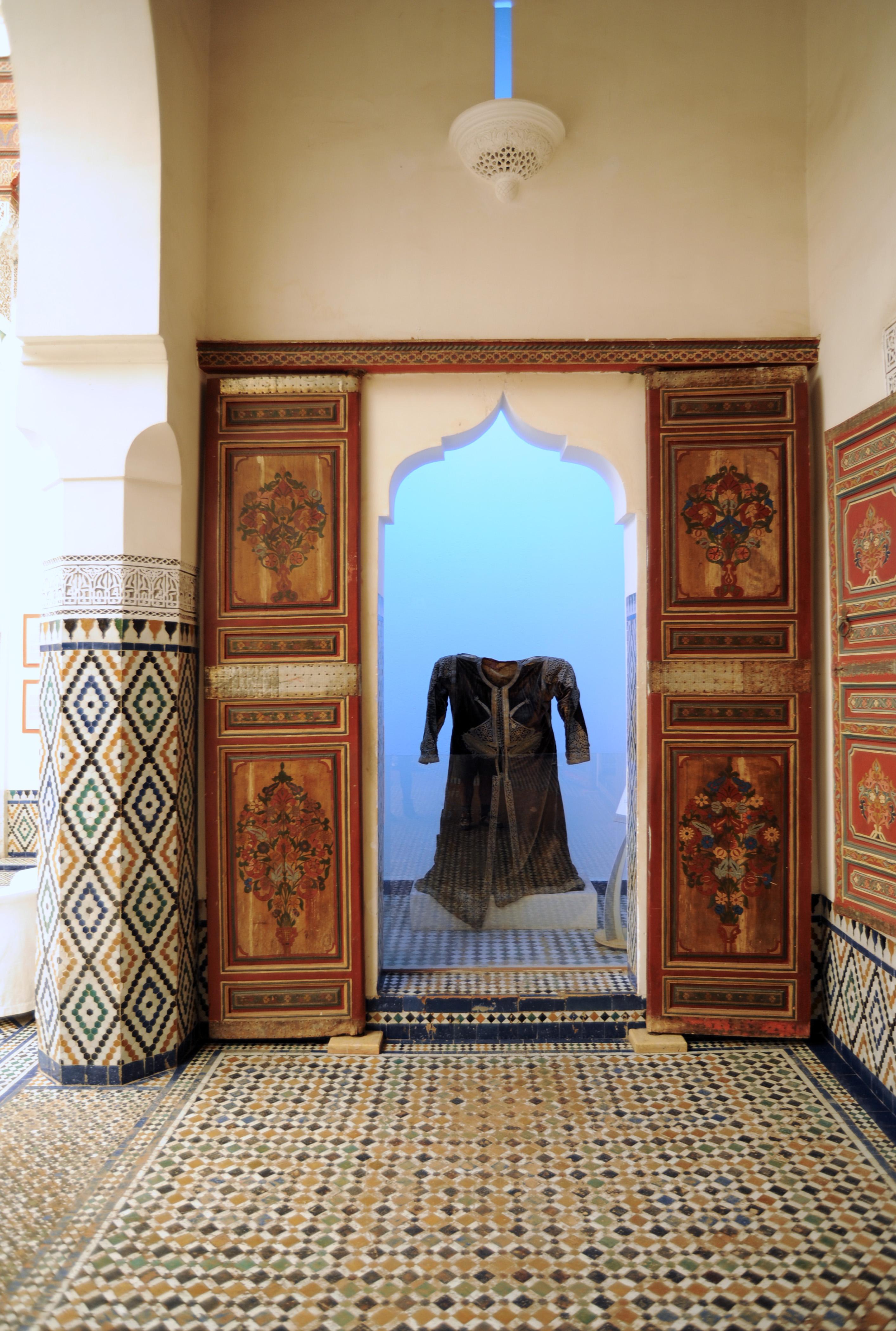 Le palais M\'nebbi à Marrakech au Maroc