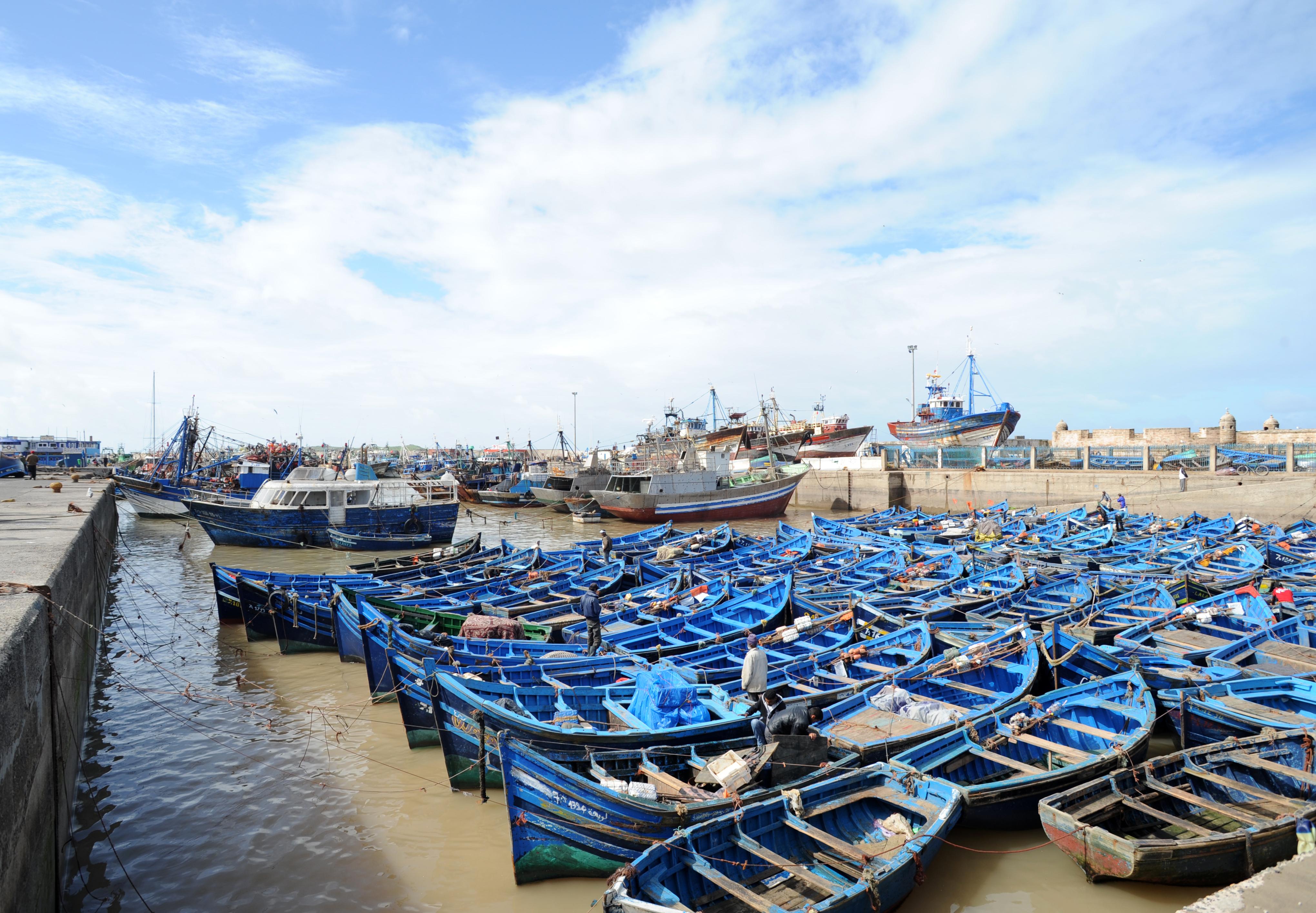 Bien-aimé The town of Essaouira QA72
