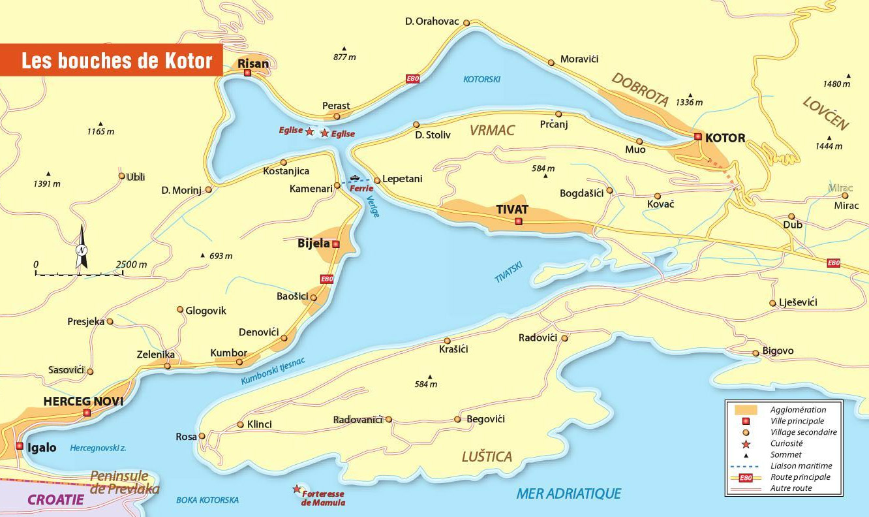 Kotor Montenegro Karte.Die Munder Von Kotor